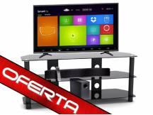 TV 39'' HDsmart + mesa de vidrio + barra de sonido