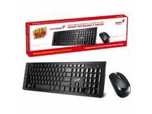 Combo teclado y mouse inalambricos Genius SlimStar 8008