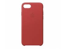 Estuche de Iphone 7/8 cuero rojo