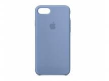 Estuche de Iphone 7 silicona azul