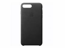 Estuche de iPhone 7 Plus cuero negro