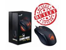 Mouse Gamer Genius Ammox X1-400 (con detalles)