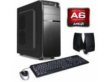 Equipo nuevo AMD A6-9500, 4gb, DVDRW, sin disco