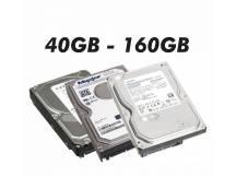 Lote de 10 discos duro con defectos 40GB a 160GB