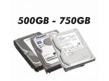 Disco duro con defectos 500GB a 750GB