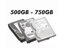 Lote de 10 discos duro con defectos 500GB a 750GB