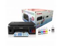 Impresora Multifuncion Canon G2100 + botella negra extra
