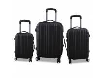 Set de 3 valijas rigidas gris