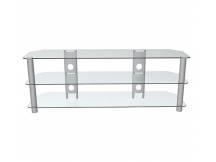 Mesa de acero y vidrio para TV led/lcd hasta 60