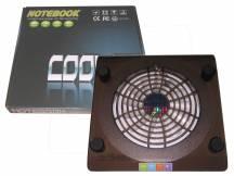 Bandeja cooler acrilico con fan para laptop