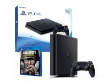 Consola Playstation 4 500GB Slim Call of Duty WWII