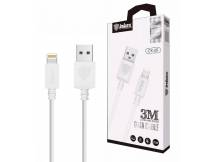 Cable Inkax Iphone 2.1A 3m