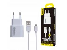 Cargador Inkax c/Cable Iphone 1A