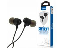 Auriculares Inkax intra negro 3.5