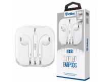 Auriculares Inkax tipo Iphone blanco