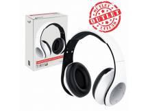 Auriculares Genius blanco c/microfono (con detalles)