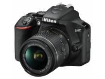 Camara Nikon D3500 24MP, Lente VR  18-55mm
