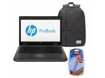 Notebook HP Celeron + Mochila + Pendrive Spiderman 8GB