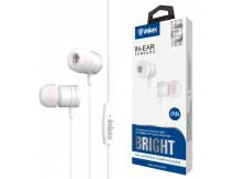 Auriculares Inkax Bright Blanco