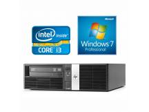 Equipo HP Core i3 3.3Ghz, 4GB, 250GB, DVD, Win 7 Pro