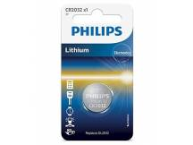 Pila de Litio Philips CR2032/01B 3V