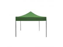 Gazebo plegable c/toldo super reforzado 3x3 mts verde