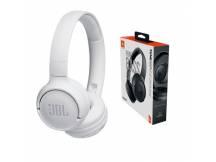 Audifono JBL Tune 500 Bluetooth blanco c/microfono