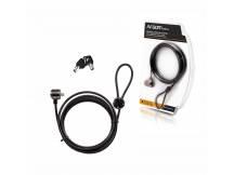 Cable de seguridad para laptop c/ llaves