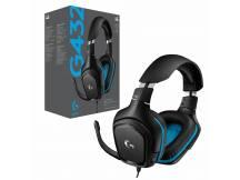 Audifono gamer Logitech G432 7.1 Surround c/microfono