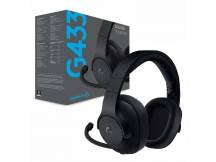 Audifono gamer Logitech G433 7.1 Surround c/microfono