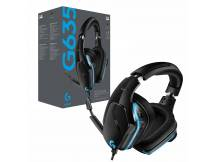 Audifono gamer Logitech G635 7.1 Surround c/microfono