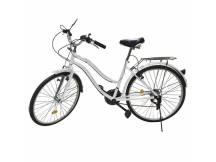 Bicicleta Vintage rodado 26 21 cam. blanco