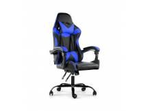 Silla Gamer Lumax ROM negro/azul
