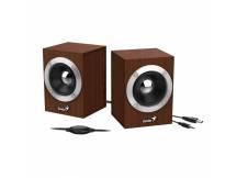 Parlante Genius SP-HF280 USB madera