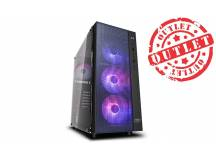 Gabinete Deepcool MATREXX 55 MESH 4F (con detalles)