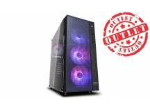 Gabinete Deepcool MATREXX 55 MESH 4F (con detalles)