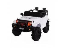 Jeep a batería blanco