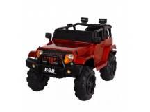 Jeep a batería rojo