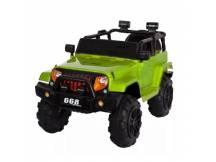 Jeep a batería verde