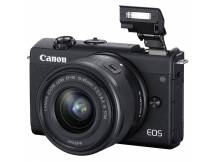 Camara Canon M200 Mirrorless lente 15-45mm