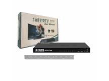 Splitter HDMI 1x8 puertos FULL HD