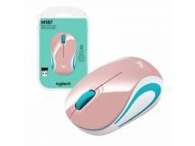 Mini Mouse Logitech M187 inalambrico rosa