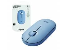Mouse inalambrico Logitech minimalista azul