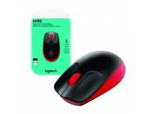 Mouse Logitech M190 rojo