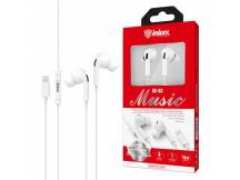 Auriculares Inkax Music lightning blancos