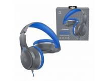 Auriculares Polaroid Bass Boost azul c/ microfono