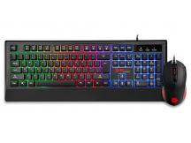 Combo teclado y mouse Thermaltake RGB Challenge