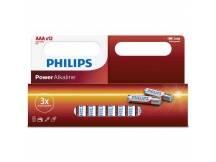 Pilas alcalinas Philips AAA x 12