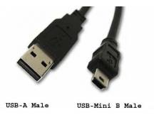 Cable mini USB 5 pines de calidad