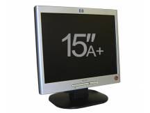 Monitor LCD 15 grado A+ negro-plata